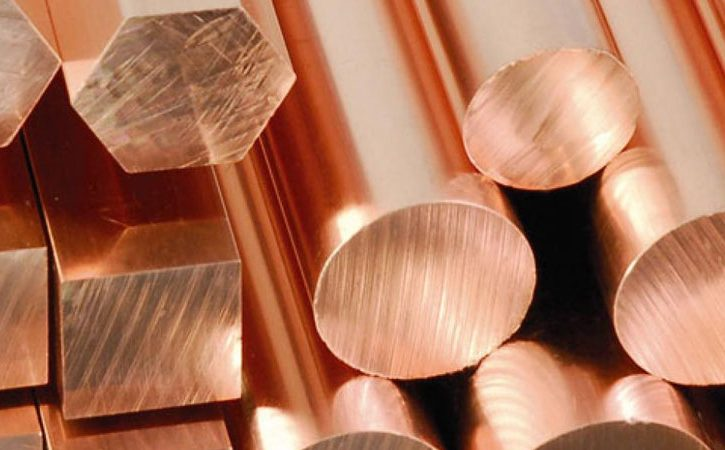 Copper round bar grade